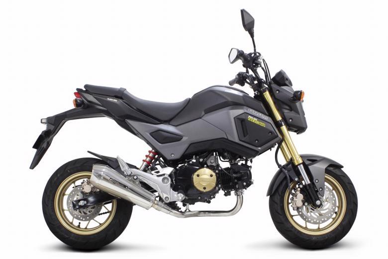 スーパーセール バイク用品 マフラー 4ストフルエキゾーストマフラーSP武川 テーパーコーンマフラー  GROM:2BJ-JC75(JC75-1000001~)スペシャルパーツタケガワ 04-02-0303 取寄品