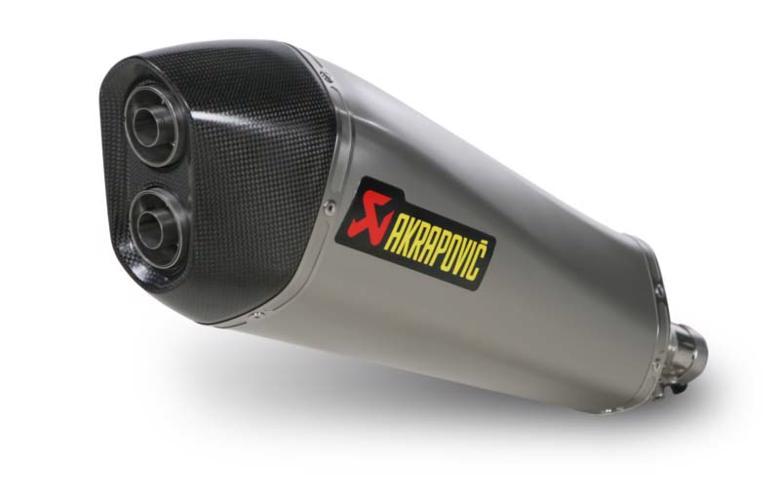 スーパーセール バイク用品 マフラー 4ストスリップオン&ボルトオンマフラーAKRAPOVIC スリップオン 専用ステン X-MAX400 13-16アクラポヴィッチ S-Y4SO10-HZAASS 取寄品