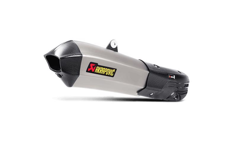 スーパーセール バイク用品 マフラー 4ストスリップオン&ボルトオンマフラーAKRAPOVIC スリップオン HXサイレンサー チタン Multistrada1200 S 15-17アクラポヴィッチ S-D12SO7-HHX2T 取寄品
