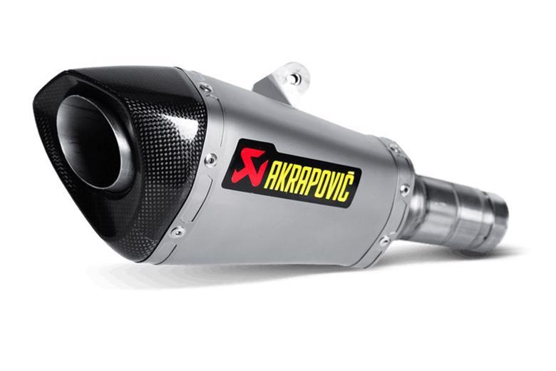 スーパーセール バイク用品 マフラー 4ストスリップオン&ボルトオンマフラーAKRAPOVIC スリップオン コニカル チタン  ZX-10R SE 16-19 ZX-10RR 17-19アクラポヴィッチ S-K10SO17-ASZ 取寄品