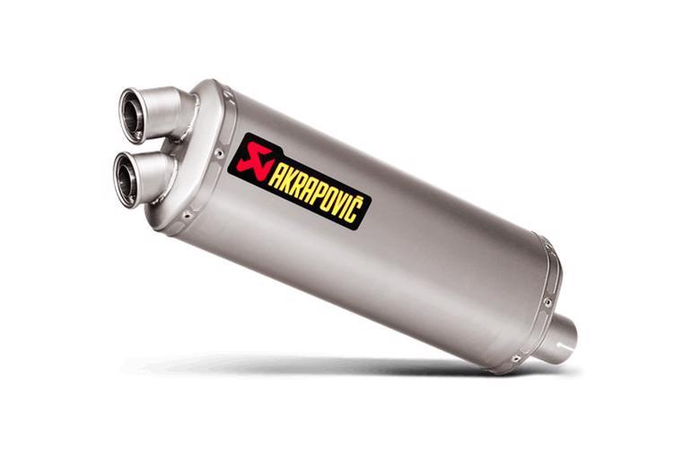 スーパーセール バイク用品 マフラー 4ストスリップオン&ボルトオンマフラーAKRAPOVIC スリップオン 専用チタン ユーロ規制 CRF1000Lアフリカツイン DCT 16-19アクラポヴィッチ S-H10SO15-HWT 取寄品