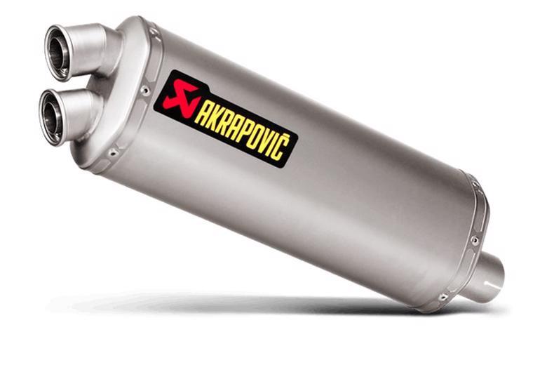 スーパーセール バイク用品 マフラー 4ストスリップオン&ボルトオンマフラーAKRAPOVIC スリップオン 専用チタンCRF1000Lアフリカツイン DCT 16-19アクラポヴィッチ S-H10SO16-WT 取寄品