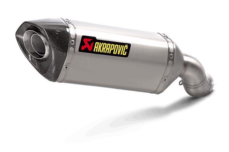 スーパーセール バイク用品 マフラー 4ストスリップオン&ボルトオンマフラーAKRAPOVIC スリップオン ヘキサゴナル チタン Euro4 Z900 17-19アクラポヴィッチ S-K9SO3-HZT 取寄品