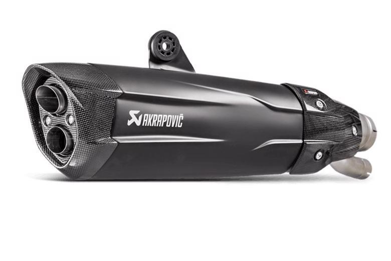 スーパーセール バイク用品 マフラー 4ストスリップオン&ボルトオンマフラーAKRAPOVIC スリップオンライン ブラッチタン Euro4 S1000RR 17アクラポヴィッチ S-B10SO6-HDVDZBL 取寄品