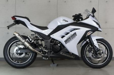 スーパーセール バイク用品 マフラー 4ストスリップオン&ボルトオンマフラートリックスター レーシングS O ショットガンステンレス GP-LOOK NINJA250 13-17トリックスター RSS-015D-SSEGP 取寄品