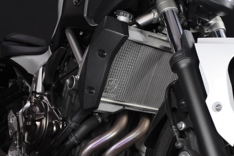 スーパーセール バイク用品 冷却系 ラジエタートリックスター ラジエターコアガード MT-07 14-16トリックスター VHG-204-SV 取寄品