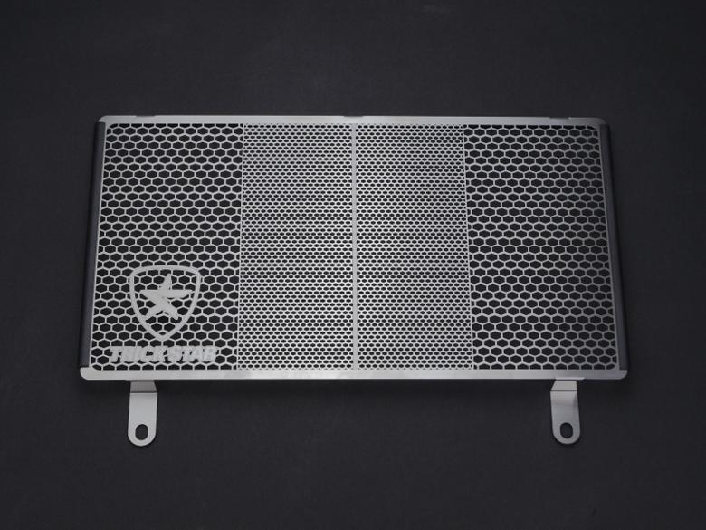 スーパーセール バイク用品 冷却系 ラジエタートリックスター ラジエターコアガード ブラックメッキ Z250 13-16トリックスター VHG-015D-BM 取寄品