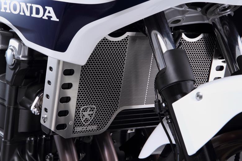 セール バイク用品 冷却系 ラジエタートリックスター ラジエターコアガード ブラックメッキ CB1300SF 03-16 CB1300SB 05-16トリックスター VHG-103-BM 取寄品