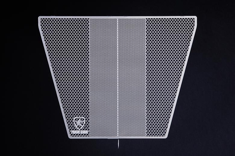 スーパーセール バイク用品 冷却系 ラジエタートリックスター ラジエターコアガード ブラックメッキ GSX-R750 600 06-16トリックスター VHG-308-BM 取寄品