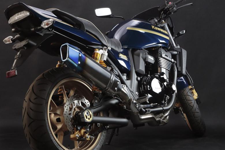 スーパーセール バイク用品 マフラー 4ストスリップオン&ボルトオンマフラートリックスター スリップオン チタン シングルIKAZUCHI ZRX1200DAEGトリックスター JST-003D-L4YT 取寄品