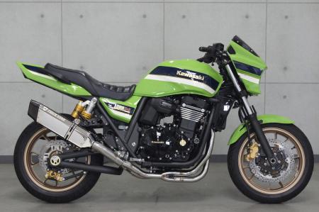 スーパーセール バイク用品 マフラー 4ストフルエキゾーストマフラートリックスター レーシング フルエキ イカヅチ ZRX1200DAEGトリックスター RFS-003D-L4SC 取寄品