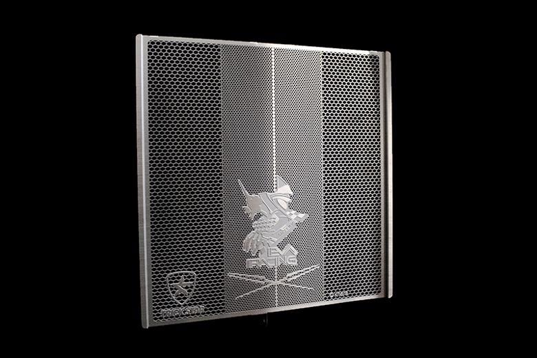 スーパーセール バイク用品 冷却系 ラジエタートリックスター ラジエターコアガード EVAコラボ 初号機ver シルバー Ninja H2 R SX SX+トリックスター VHG-H01-EBSV 取寄品