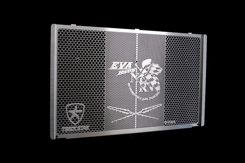 セール バイク用品 冷却系 ラジエタートリックスター ラジエターコアガード EVAコラボ NERVver シルバー Z900RSトリックスター VHG-031-EASV 取寄品