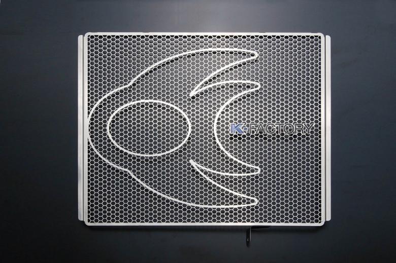 スーパーセール バイク用品 冷却系 ラジエターK-FACTORY ラジエターコアガード ステンレス Bタイプ ZZR1400ケイファクトリー 101CZAA067Z 取寄品
