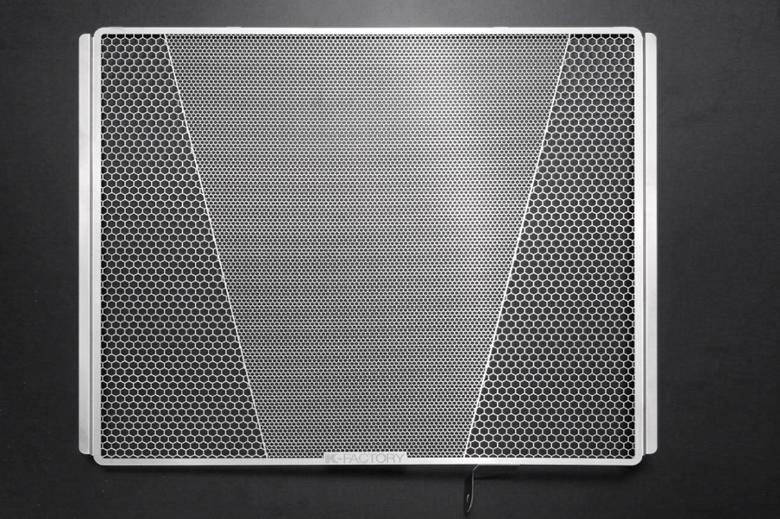 スーパーセール バイク用品 冷却系 ラジエターK-FACTORY ラジエターコアガード ステンレス Rタイプ ZZR1400 06-11 ZX14R 12-ケイファクトリー 101CZAA068Z 取寄品