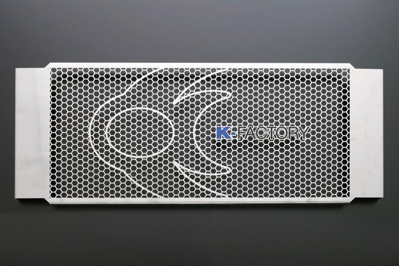 スーパーセール バイク用品 冷却系 オイルクーラーK-FACTORY オイルクーラーガード ステンレス Bタイプ GSX1400ケイファクトリー 201CZAA029Z 取寄品