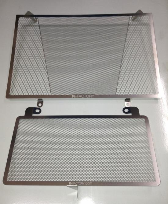 セール バイク用品 冷却系 ラジエターK-FACTORY ラジエターコアガード ステンレス Rタイプ GSX1300R 08-ケイファクトリー 244CZAA075Z 取寄品