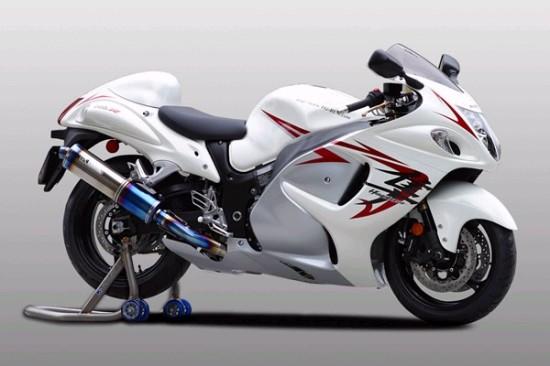 スーパーセール バイク用品 マフラー 4ストフルエキゾーストマフラーK-FACTORY FRCチタン フルEX1本出 SBL-B GSX1300R 08ケイファクトリー 244KJBAABG0000 取寄品