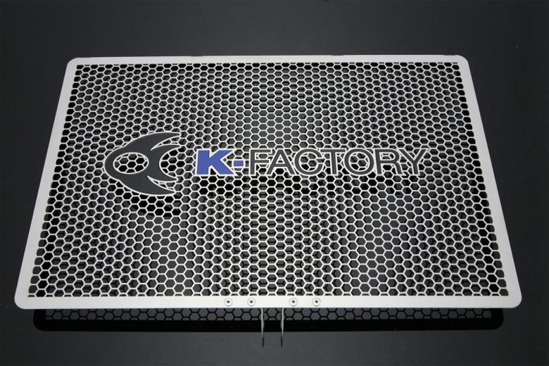 セール バイク用品 冷却系 ラジエターK-FACTORY ラジエターコアガード Aタイプ Z1000 08-14 Ninja1000ケイファクトリー 151CZAA082Z 取寄品
