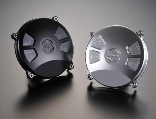 スーパーセール バイク用品 吸気系&エンジン クランクケース&クランクシャフト&エンジンカバーK-FACTORY クランクエンドカバーL TYPE2 S BLK ZEPHYR1100ケイファクトリー 111IZBM006R 取寄品