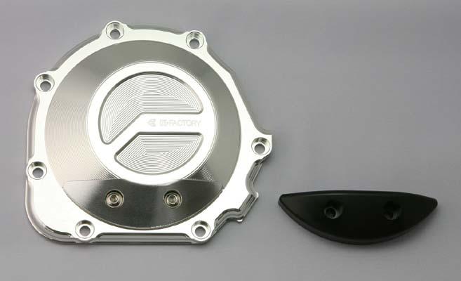 スーパーセール バイク用品 吸気系&エンジン クランクケース&クランクシャフト&エンジンカバーK-FACTORY パルシングカバー TYPE2 シルバー GPZ900R ZRX1200R S DAEG ZZR1100 etc.ケイファクトリー 112IZBL008H 取寄品