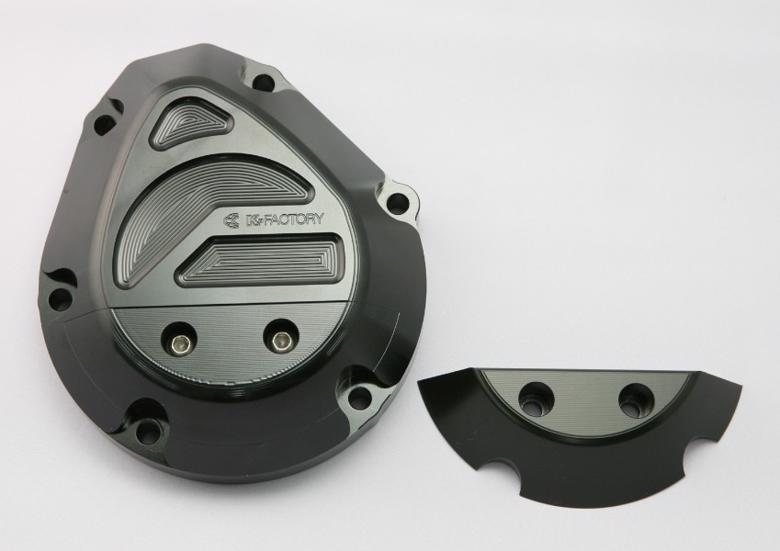 スーパーセール バイク用品 吸気系&エンジン クランクケース&クランクシャフト&エンジンカバーK-FACTORY パルシングカバーR スーパーブラック CB1300SF SB CB1100 10-ケイファクトリー 001IZBL009R 取寄品