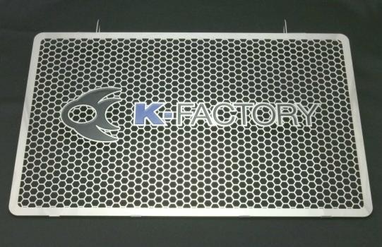 スーパーセール バイク用品 冷却系 ラジエターK-FACTORY ラジエターコアガード ステンレス Aタイプ ZRX1200 DAEGケイファクトリー 152CZAA087Z 取寄品
