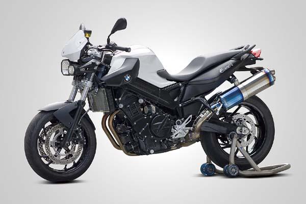 バイク用品 マフラー 4ストスリップオン&ボルトオンマフラーK-FACTORY 3Dチタン スリップオン ディアブロS BMW F800R 09-ケイファクトリー 412KBBAEBG0000 取寄品