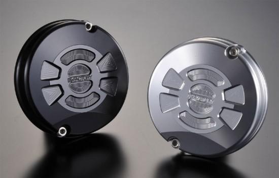 スーパーセール バイク用品 吸気系&エンジン クランクケース&クランクシャフト&エンジンカバーK-FACTORY パルシングカバーR TYPE2 シルバー ZEPHYR1100ケイファクトリー 111IZBL007H 取寄品