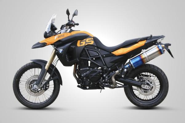 スーパーセール バイク用品 マフラー 4ストスリップオン&ボルトオンマフラーK-FACTORY FRC スリップオンマフラー(2テールエンド) F800GS F650GSケイファクトリー 417KBBAEBG0000 取寄品