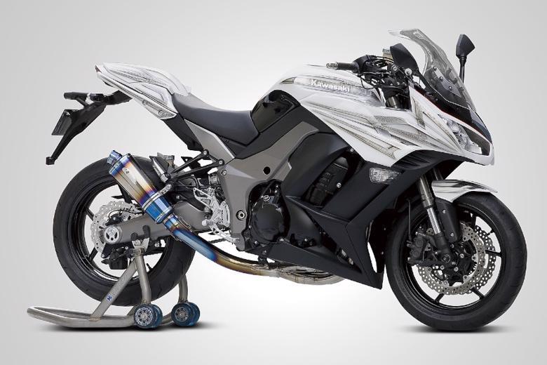 スーパーセール バイク用品 マフラー 4ストフルエキゾーストマフラーK-FACTORY FRC フルエキマフラー 4in1 チタン チタン NINJA1000 11 Z1000 10-13ケイファクトリー 160KPECGAA0000 取寄品