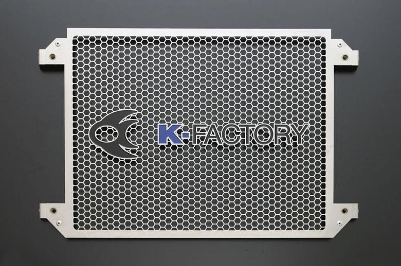 バイクパーツ モーターサイクル オートバイ セール バイク用品 冷却系 ラジエターK-FACTORY ラジエターコアガードセット ステンレス Aタイプ V-MAXケイファクトリー 304CZAA096Z 取寄品