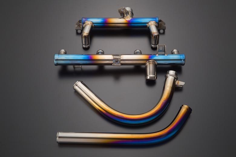 バイクパーツ モーターサイクル オートバイ セール バイク用品 冷却系 その他(冷却系)K-FACTORY チタン製ウォーターパイプセット SBL GPZ900Rケイファクトリー 112OZEN002P 取寄品