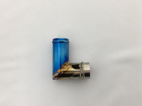 セール バイク用品 冷却系 その他(冷却系)K-FACTORY チタン製ポンプ-インレット SBL ZRX1200 -09 DAEGケイファクトリー 103OZEN011P 取寄品