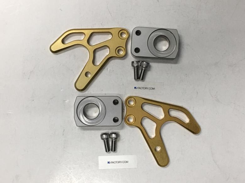 セール バイク用品 メンテナンス メンテナンススタンドK-FACTORY V型スタンドフック ステイゴールド CBR250RR 17ケイファクトリー 073WZAL0114 取寄品