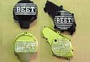 スーパーセール バイク用品 吸気系&エンジン クランクケース&クランクシャフト&エンジンカバーBEET スターターカバー ゴールド CBX400F CBR400Fビート 0401-H02-10 取寄品