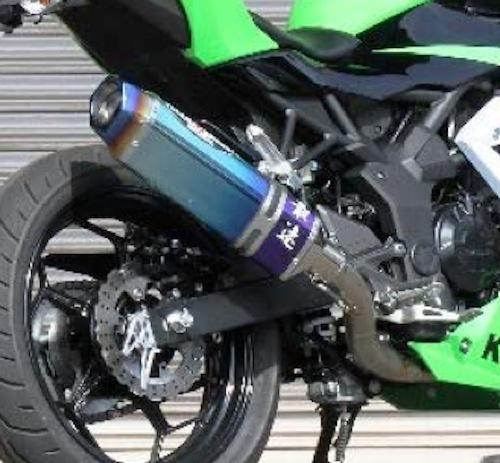 スーパーセール バイク用品 マフラー 4ストフルエキゾーストマフラーBEET NASSERT-R Evo TI  Ninja250SL Z250SL 15-16 ST250F用ビート 1003-B24-50 取寄品