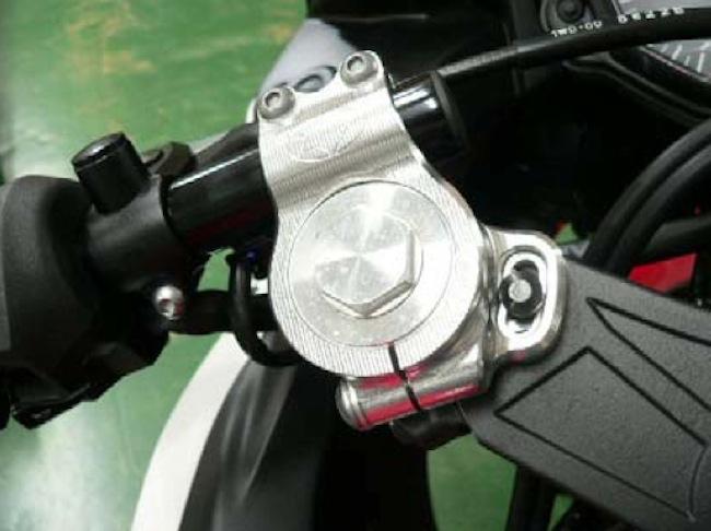 バイクパーツ モーターサイクル オートバイ セール バイク用品 ハンドル ハンドルBEET レーシングハンドルクランプSET BLK YZF-R25 YZF-R3ビート 0605-Y48-CB 取寄品