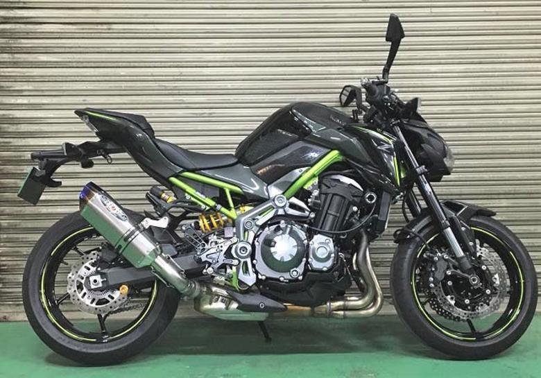 バイク用品 マフラー 4ストスリップオン&ボルトオンマフラーBEET ナサート-Evo TYPE2 S O クリアTI Z900 18ビート 0222-KE7-50 取寄品