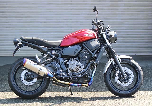 スーパーセール バイク用品 マフラー 4ストフルエキゾーストマフラーBEET ナサート-Evo TYPE2 クリアTI XSR700 18-ビート 0223-Y52-50 取寄品