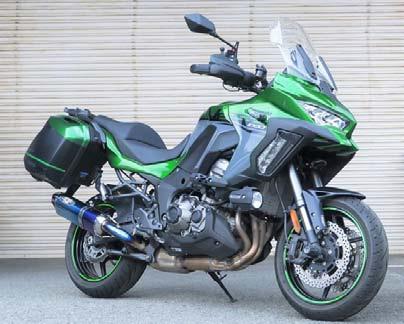 スーパーセール バイク用品 マフラー 4ストスリップオン&ボルトオンマフラーBEET ナサート-Evo TYPE2 S O ブルーTI VERSYS1000SE 19-ビート 0222-KF2-BL 取寄品