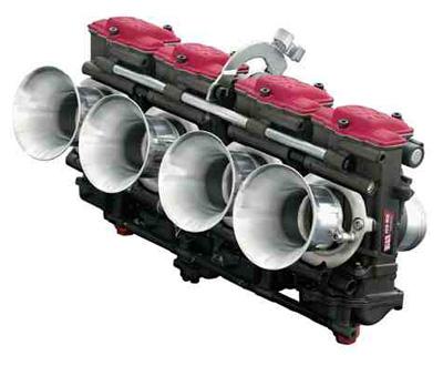 バイク用品 吸気系&エンジン インジェクション&キャブレターヨシムラ FCR-MJN35キャブレターSET Z1 ファンネル仕様 SLVヨシムラ 759-291-4500 取寄品