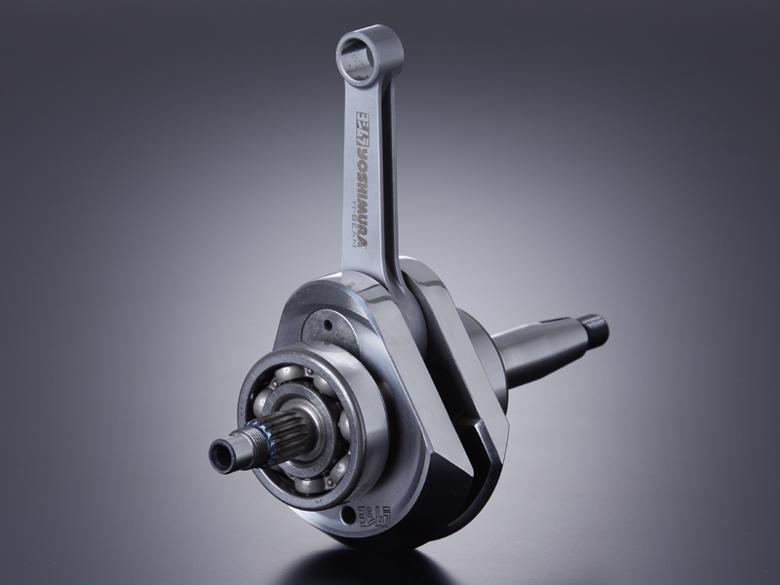 スーパーセール バイク用品 吸気系&エンジン クランクケース&クランクシャフト&エンジンカバーヨシムラ H-BEAMクランクシャフト125 50ccベース用 APE50 XR50MOTARDヨシムラ 250-405-A200 取寄品