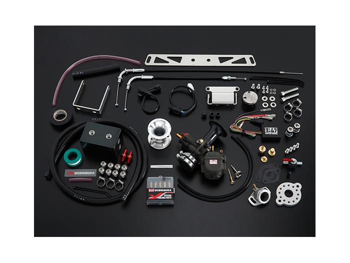 バイク用品 吸気系&エンジン インジェクション&キャブレターヨシムラ POWER-UPキット+コンバージョンキット YD-MJN24 GROM 181ccヨシムラ 288-40A-4700 取寄品 セール
