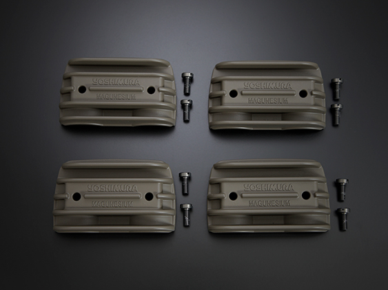 スーパーセール バイク用品 吸気系&エンジン クランクケース&クランクシャフト&エンジンカバーヨシムラ マグネシウムヘッドサイドカバー GSX1100S 750S 1100E 750Eヨシムラ 280-152-M000 取寄品