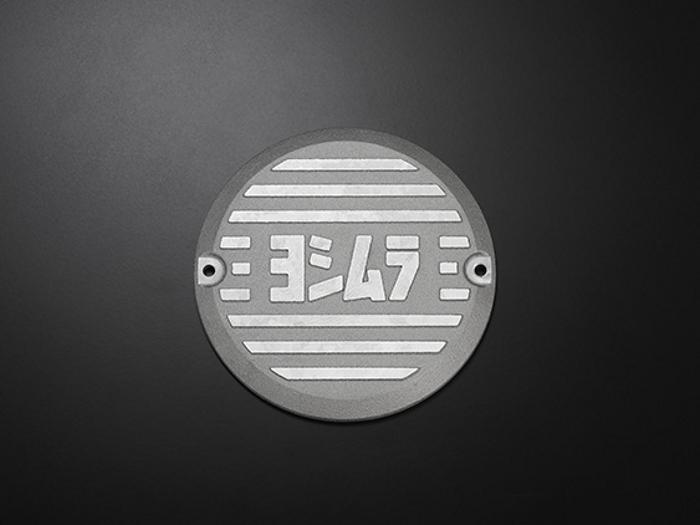 スーパーセール バイク用品 吸気系&エンジン クランクケース&クランクシャフト&エンジンカバーヨシムラ アルミダイナモカバー シルバー CB400FOURヨシムラ 280-448-A300 取寄品