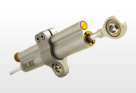 バイク用品 ハンドル ステアリングダンパーオーリンズ ステアリングダンパー 63mm ユニバーサルOHLINS SD000 取寄品