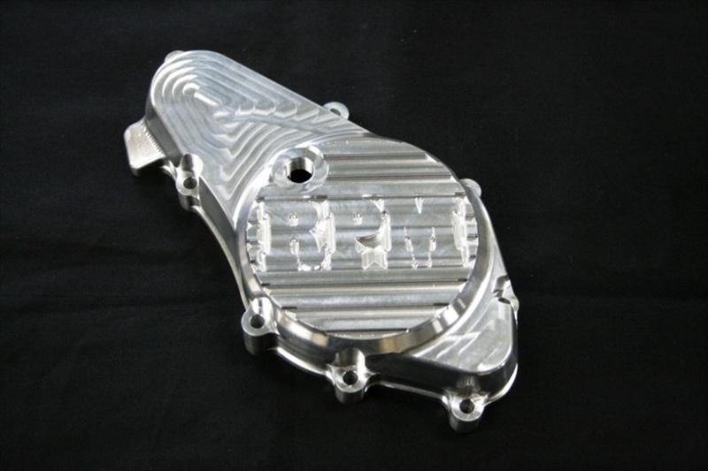 バイク用品 吸気系&エンジン クランクケース&クランクシャフト&エンジンカバーRPM フルビレット スターターカバー クリア CBX400Fアールピーエム B21012 取寄品 スーパーセール