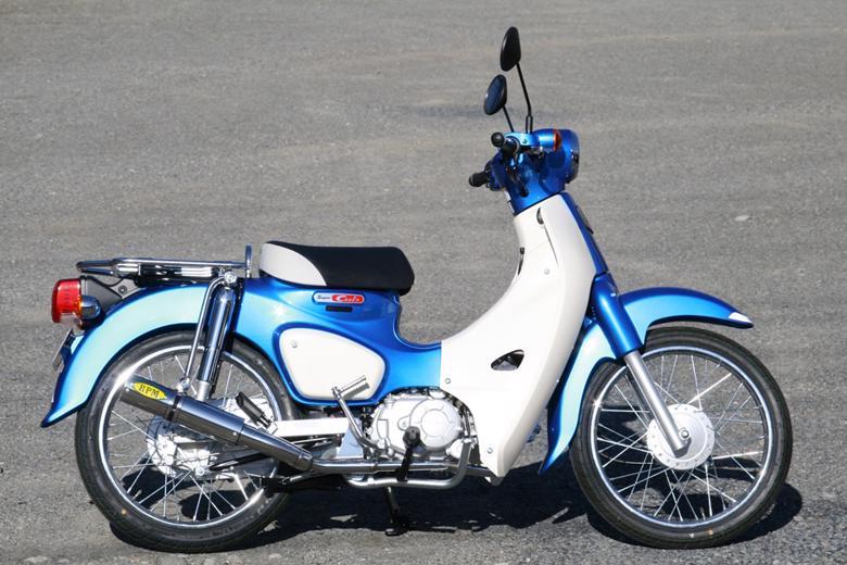 スーパーセール バイク用品 マフラー 4ストフルエキゾーストマフラーRPM RPMフルEXマフラー 政府認証 Super Cub110 CROSS CUB110アールピーエム 2082 取寄品