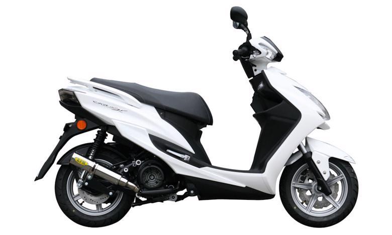 スーパーセール バイク用品 マフラー 4ストフルエキゾーストマフラーRPM RPMマフラー CYGNUS-X125(2BJ-SED8J)アールピーエム 3038 取寄品